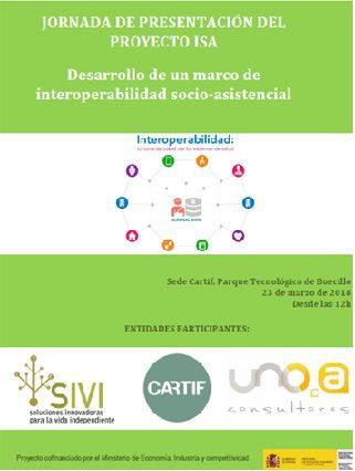 cartel presentación de la jornada
