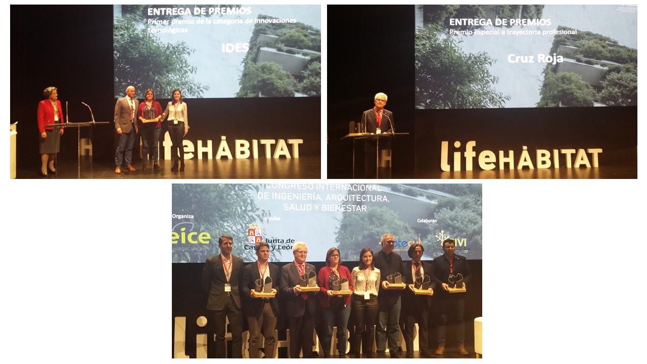 Asociados de Cluster SIVI premiados en Life Hábitat