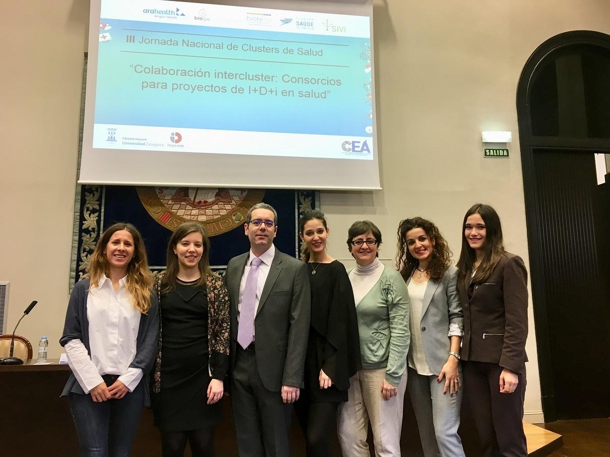 Participantes en la III Jornada Nacional de Cluster de Salud